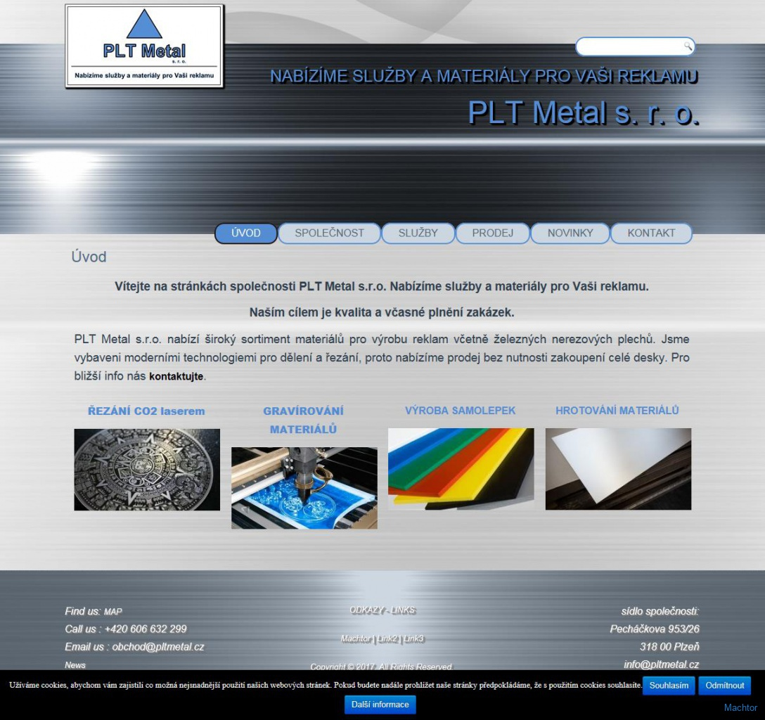PLTmetal